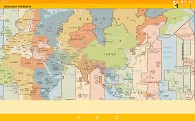 Pacific Time Zone Map Time Zone Map Android Apps On Google Play
