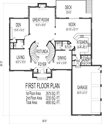 2 sets of stairs 4 bedroom story house plans 5100 sq ft dallas at