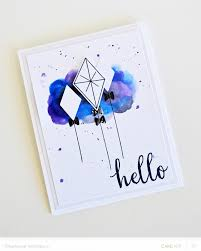 handmade watercolor cards kite gallery craftgawker