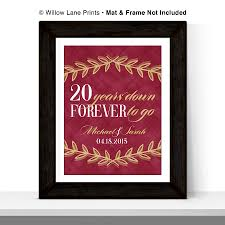20th anniversary gift 20th wedding anniversary gifts 2017 wedding ideas magazine
