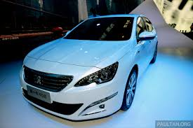 used peugeot 408 new peugeot 408 sedan unveiled at auto china 2014 image 244060