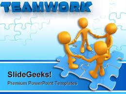 teamwork powerpoint template free powerpoint presentation on