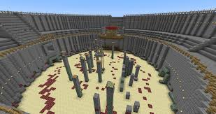 inspirational minecraft arena buildings ideas minecraft pixel