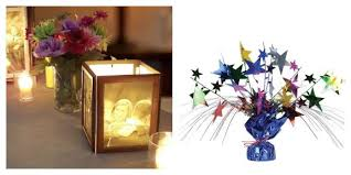 Picture Frame Centerpieces by Throw A Loved One A Special 90th Birthday Party With These Party