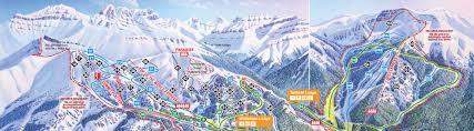 Green Circle Trail Map Trail Maps The Lake Louise Ski Resort