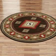 Round Throw Rugs by Tucson Southwest Round Area Rugs