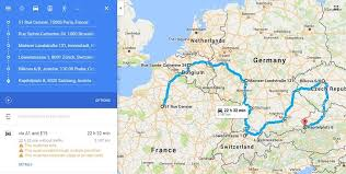 map usa route planner route planner europe cross country route optimization