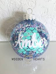 mermaid mermaid ornament personalized