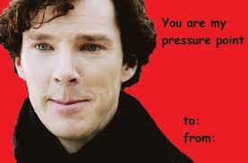 sherlock valentines day cards 21 valentines for the sherlock fan in your