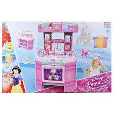 Kitchen Princess Disney Princess Mega Kitchen Double Sided 17pc Playset Kids Cook