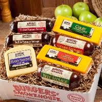sausage and cheese gift baskets best summer sausage summer sausage gift baskets