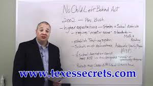 texes test practice no child left behind act youtube