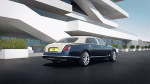 Bentley Adds Real Gold And Silver To New Mulsanne Hallmark Series