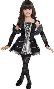 Gothic Ballerina Halloween Costume Toddler Girls Classic Costumes Party