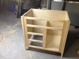 building a bathroom vanity cabinet woodworkweb youtube benevola
