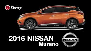 nissan murano cargo space 2016 nissan murano sl brunswick ga 32 1 cubic ft of cargo space