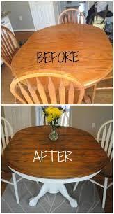Refurbished Dining Tables Cerused Oak Dining Table Table Makeover Finished Oak Dining
