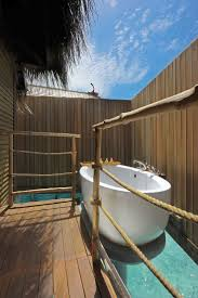 best images about outdoor shower tubs pinterest outdoor bath moofushi island maldives