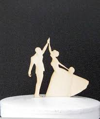 high five cake topper wedding cake topper high five high five and groom figurines
