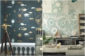 steunk house interior steunk wallpaper for walls 5 wow factor wallpaper ideas my
