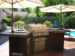 Backyard Creations Umbrella by Bbq Island With Umbrellas Barbecue Islands Pinterest Bbq