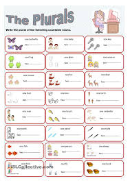 Noun Worksheet Kindergarten The Plurals Plural Gor Pinterest Plural Nouns Language Arts