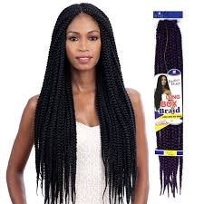 braids crochet large box braids freetress synthetic hair crochet braid