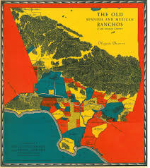 La County Map Map Of The Old Spanish And Mexican Ranchos Of Los Angeles U2026 Flickr