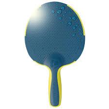 Housse Table De Ping Pong Decathlon by Raquette De Pingpong Artengo Fr 130 Outdoor Bleu Jaune Artengo