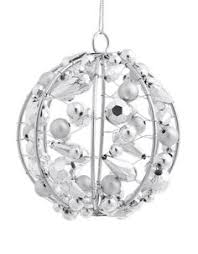 multifaceted glass ornament ornament glass and holidays