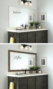 Framed Bathroom Mirrors Ideas Framed Bathroom Mirrors Ideas