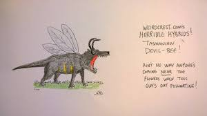 heinous hybrids tasmanian devil bee and more weirdcrest