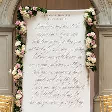 wedding vow backdrop fairytale wedding personalized photo shoot backdrop backdrops