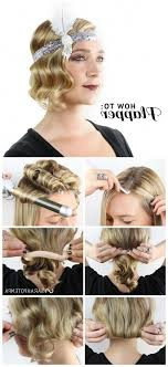 medium length haircuts for 20s 1920s hairstyles long hair updos 192039s on pinterest gats roaring