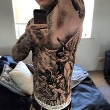 Mens Rib - 40 rib tattoos for side ink designs