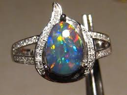 black opal engagement rings 1704 best opals images on opal jewelry rings and jewelry