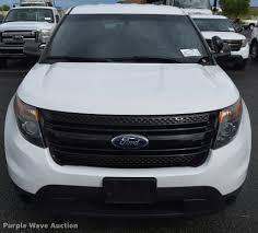 Ford Explorer 2013 - 2013 ford explorer police interceptor utility suv item l38