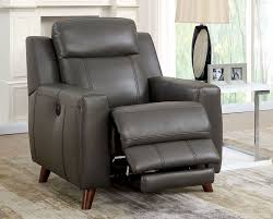 Powered Reclining Sofa Drew Modern Power Recliner Sofa