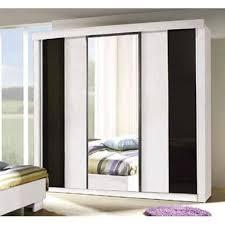 armoire chambre a coucher porte coulissante armoire garde robe dublin trois portes coulissantes coloris noir