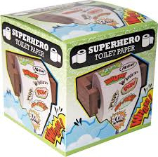 novelty toilet paper holder superhero novelty toilet tissue