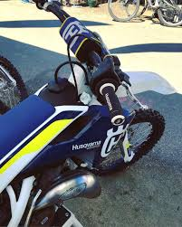 husqvarna motocross bikes some husqvarna dirt bikes at seaotterclassic amongst the