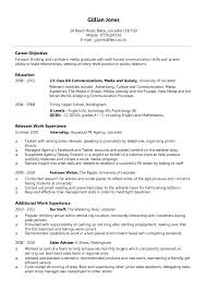 Sample Chronological Resume Template by Example Of Chronological Resume Sample Chronological Resume