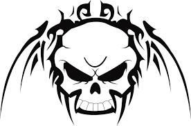 40 tribal skull tattoos ideas