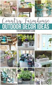 best 25 farmhouse outdoor decor ideas on backyard