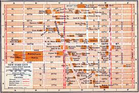 map of nyc streets new york maps perry castañeda map collection ut library