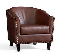 soft leather furniture pottery barn