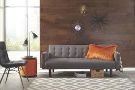 Grey Sofa Bed Skyler Tufted Grey Sofa Bed By Scott Living