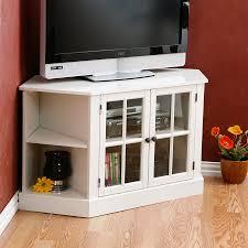 Corner Tv Cabinet Ikea Shop Boston Loft Furnishings Thomas White Tv Stand At Lowes Com