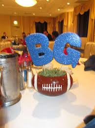 football centerpieces football football banquet party ideas photo 8 of 8 catch my party