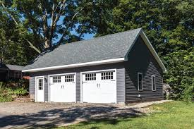 Large Garage Plans Woodstock Saltbox Style One Story Garage The Barn Yard U0026 Great